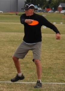 Throw that disc PT!