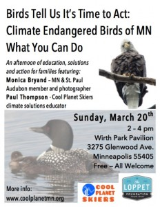 March 20 birds and climate